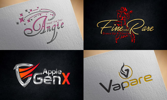 We design professional and creative Logo in fiverr