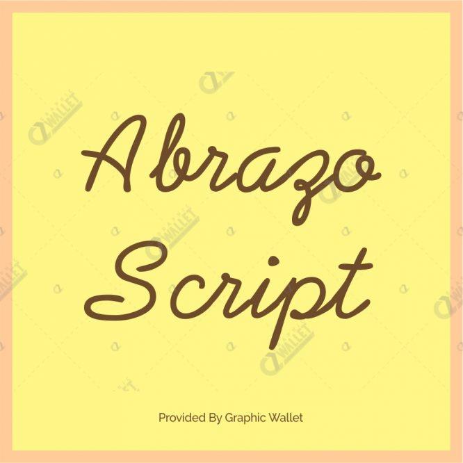 Abrazo Script Font