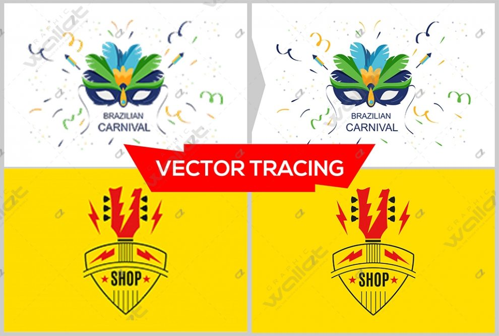 Do vector tracing and redraw your logo