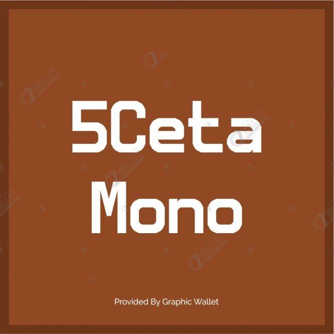 5Ceta Mono Font
