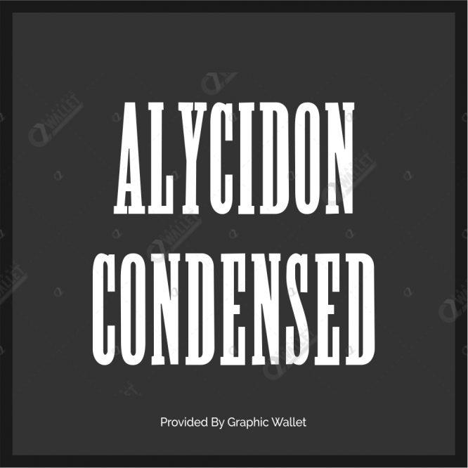 Alycidon Condensed Font