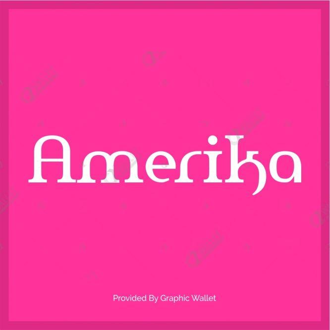 Amerika Font