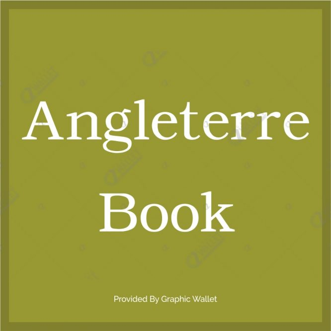 Angleterre Book Font