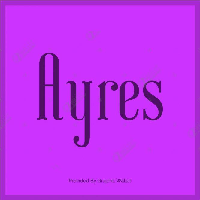 Ayres Font
