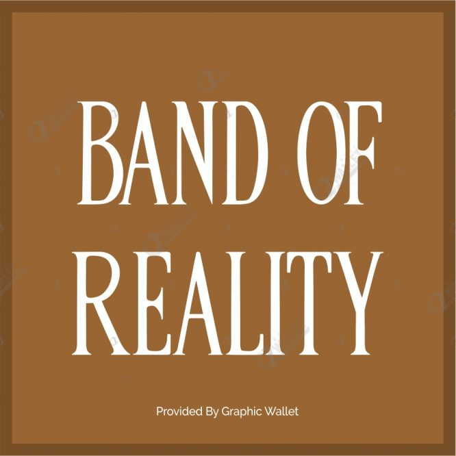 Band Of Reality Font