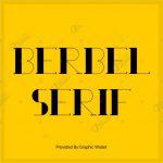 Berbel Serif Font