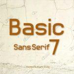 Basic Sans Serif 7 Font
