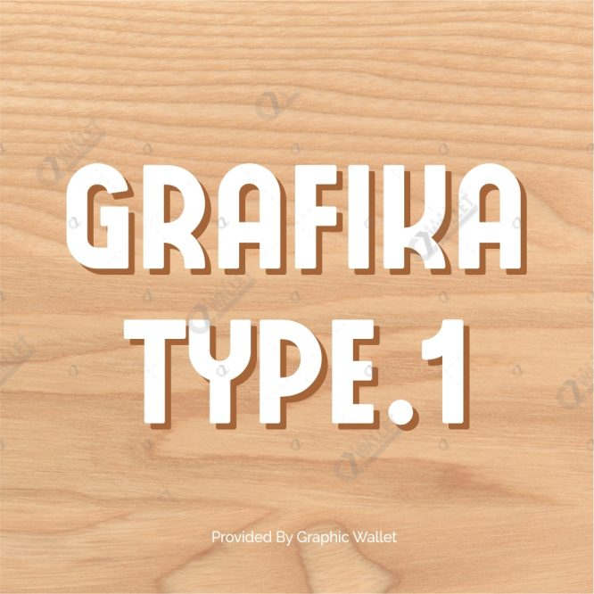 GRAFIKA TYPE.1 FONT