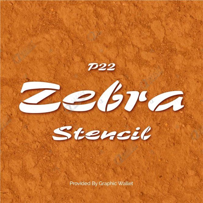 P22 Zebra Font_2