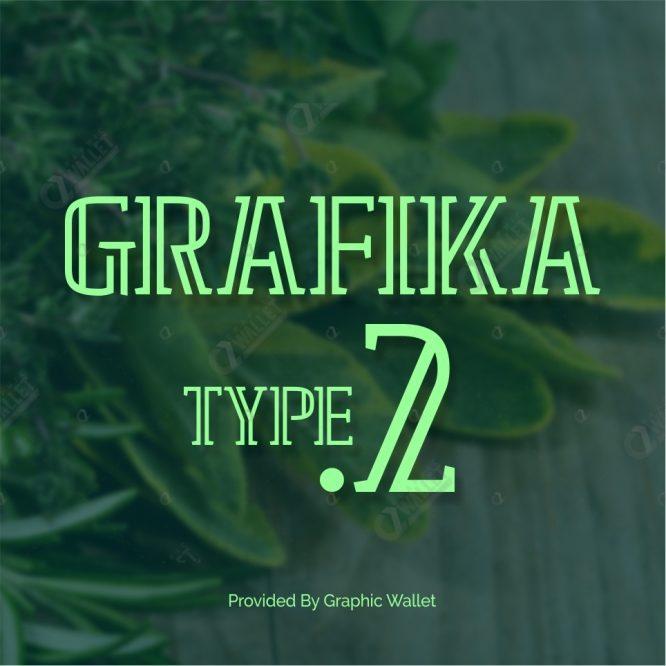 GRAFIKA TYPE.2 FONT