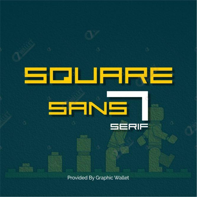 Square Sans Serif 7 Font