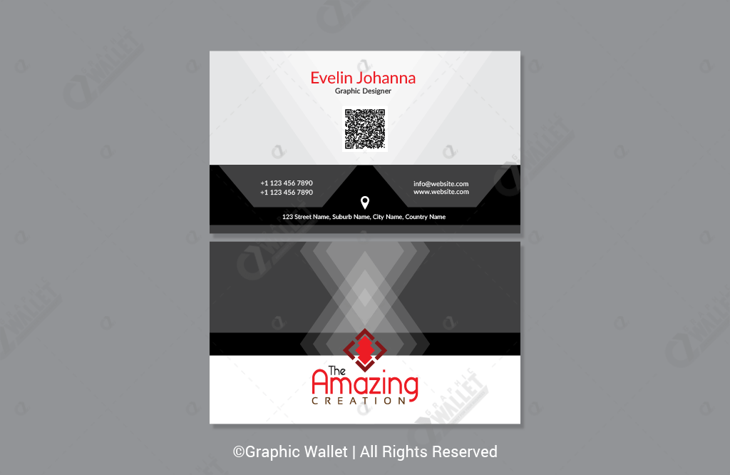 The Amazing Creation – Premium Business Card_2
