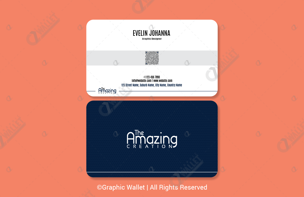 The Amazing Creation Rounded – Premium Business Card_2