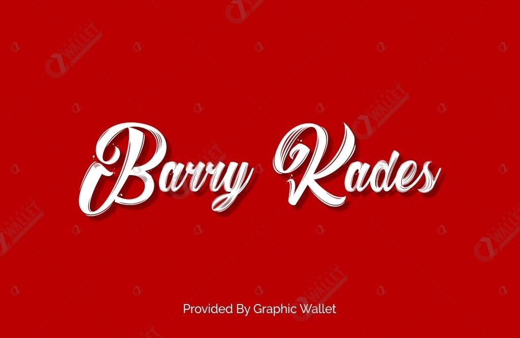 Barry Kades Font