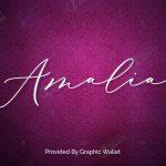 Amalia Script Font