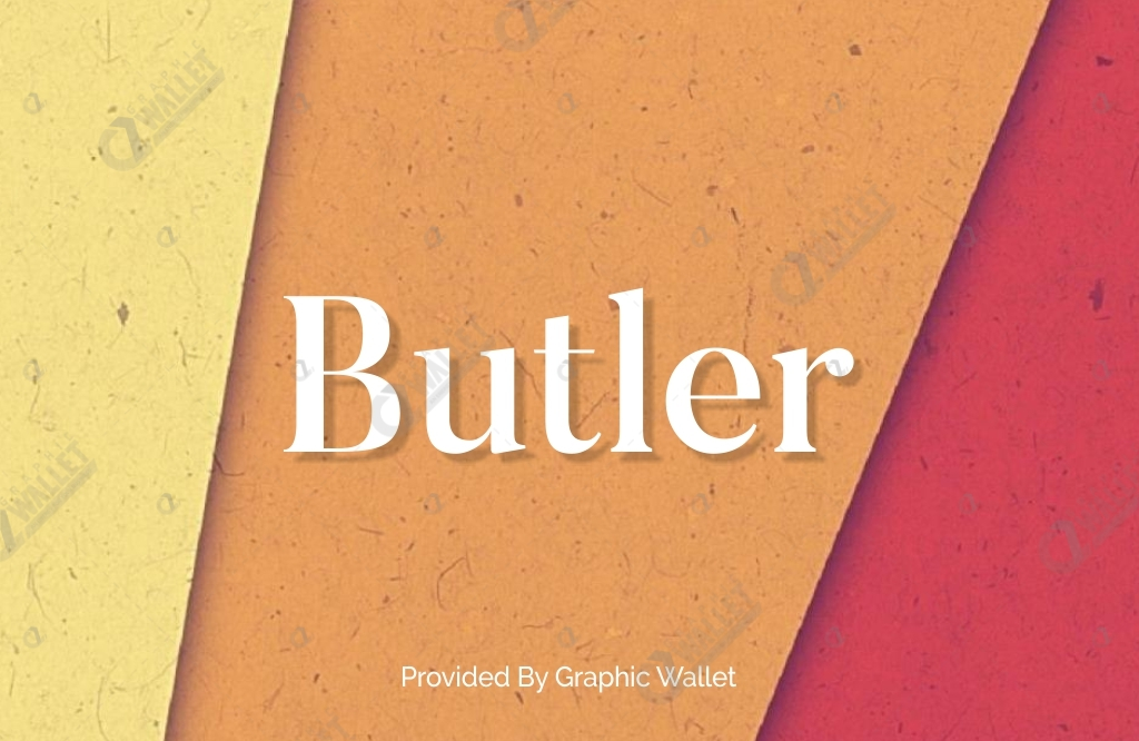 Butler With Web Font