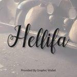 Hellifa Font