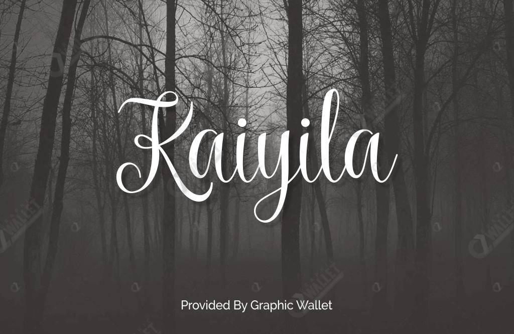 Kaiyila Font