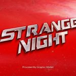 Retro Car Emblem Mockup – Strange Night