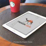iPad Air 2 App Icon & Logo Mockup – Tresor Lock