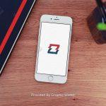iPhone 6 Designer Desk App Icon Mockup – ZigFlag