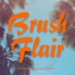 Brush Flair Font