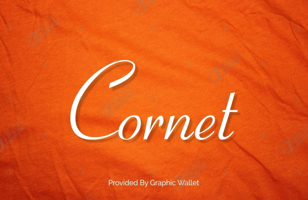 Cornet Font