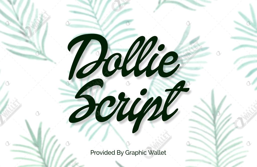 Dollie Script Font