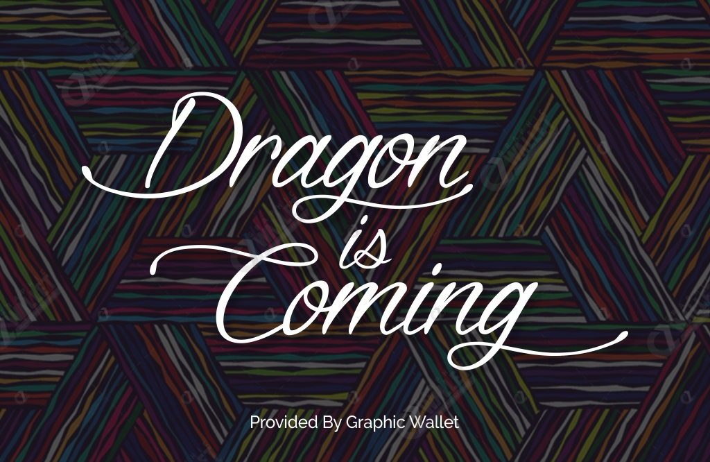 Dragon is Coming Font