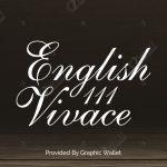 English 111 Vivace BT Font