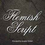 Flemish Script Font