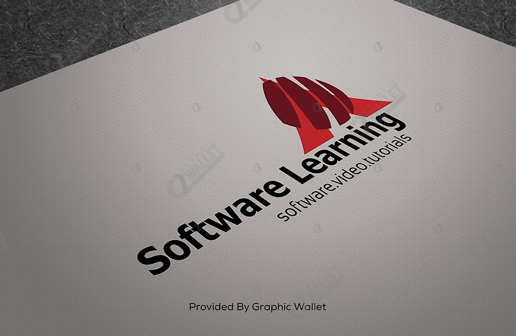 Free Logo Mockup – Software Learning