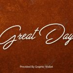 Great Day Font