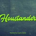Houstander Font
