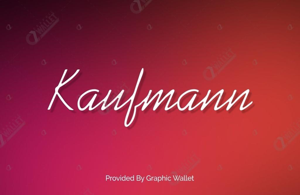 Kaufmann Font Family