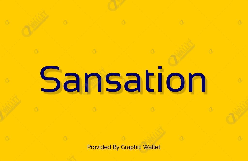Sansation Font Family