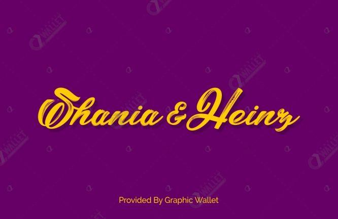 Shania & Heinz Font