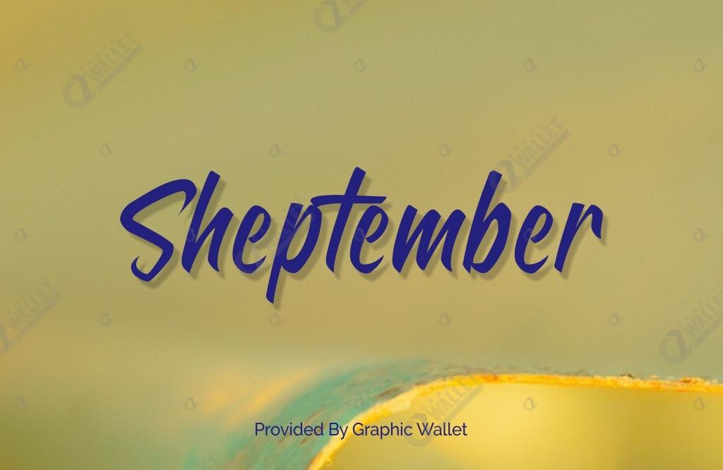 Sheptember Font