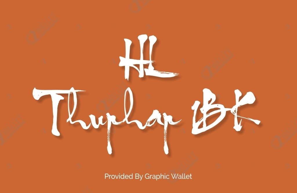 HL Thuphap 1BK Font