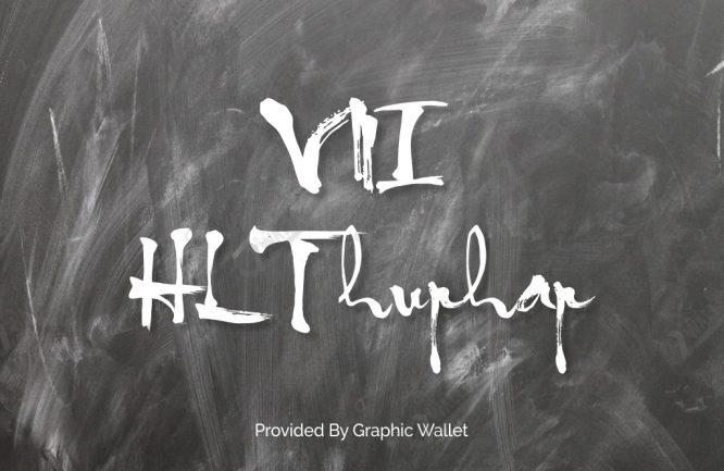 VNI HLThuphap Font