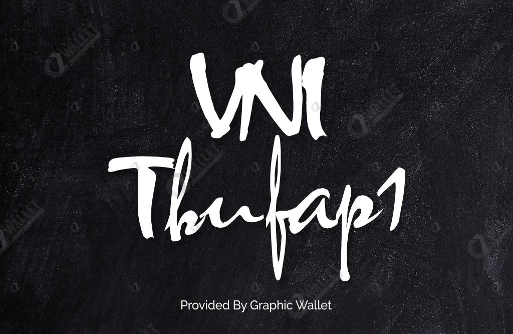 VNI Thufap1 Font