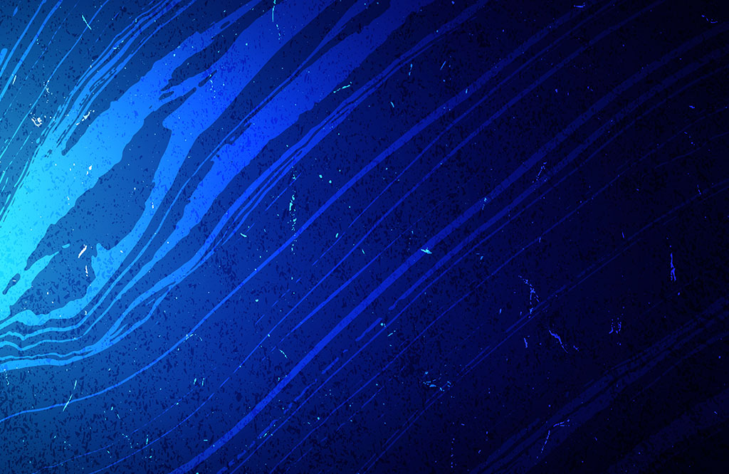 iPhone X Blue Abstract Waves Wallpaper