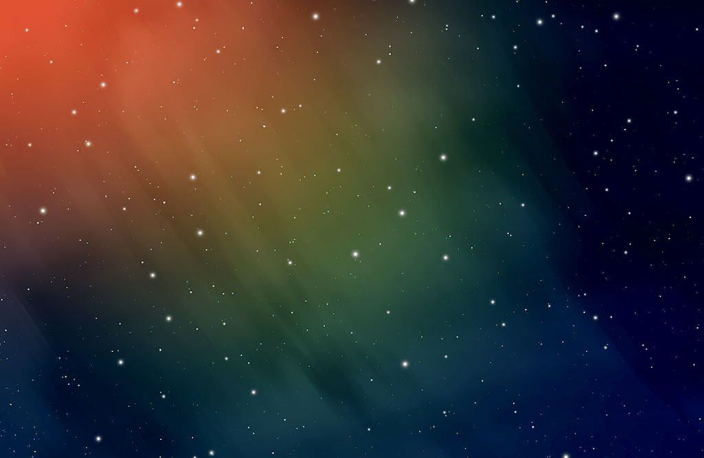 iPhone X Colorful Stars Wallpaper