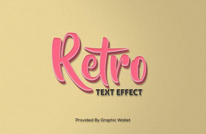 Retro PSD Mockup Text Effect_3