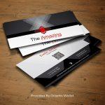 Elegant PSD Business Card Mockup