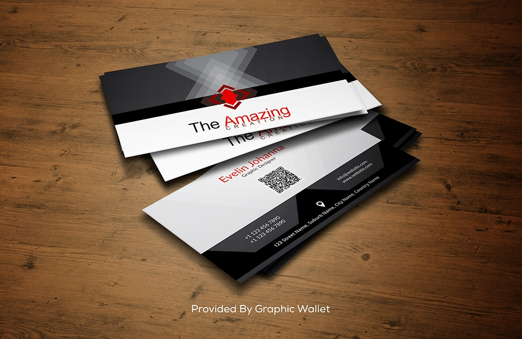 Elegant PSD Business Card Mockup
