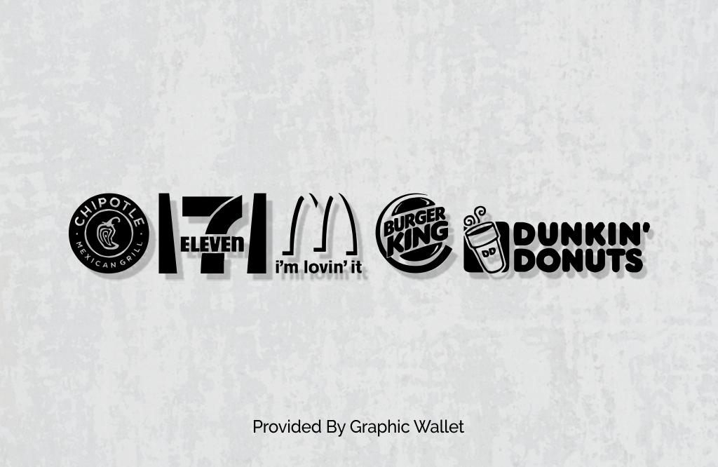 Fast Food Logos Font