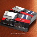 Free Executive Business Card Mockup PSD
