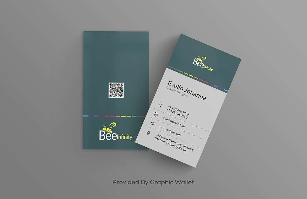 Free PSD Modern Business Card Mockup
