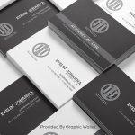 Multiple Free Business Card Mockup